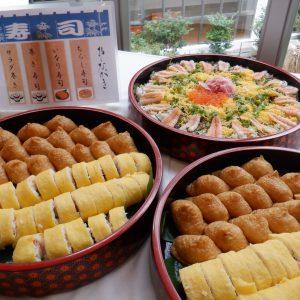 お寿司ビュッフェを開催しました